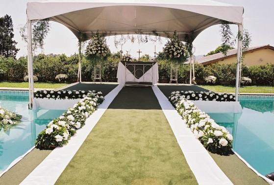 Buffet para Casamento ao Ar Livre Franco da Rocha - Buffet para Casamento com Decoração