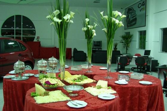 Buffets para Confraternização e Festa Empresarial Osasco - Buffet para Inauguração