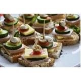 buffet para casamento com coquetel