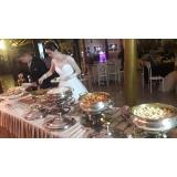 buffet para casamento completo valor Paulínia