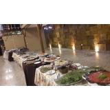 buffet para casamento de churrasco valor Paulínia