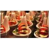 buffet para casamento de finger food Atibaia