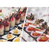 buffet para casamentos de finger food Campinas