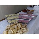 buffet para confraternização de alunos