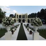 buffets para casamento ao ar livre Franco da Rocha