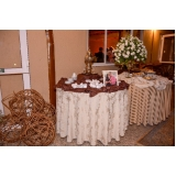buffets para casamento rústico fazenda Osasco