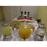 buffets para confraternização de escola Campinas