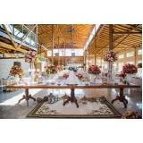 cotação para buffet para casamento com decoração Itatiba